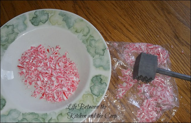 peppermint chocolate chip cookie, Christmas cookies, candy cane