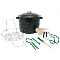 Granite Ware Canning Set, 8-Piece, Black