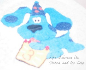 Blues Clues birthday cake wilton cake pan WM