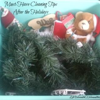 cleaning tips after holidays