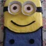 cake decorating, minion cake, cute cakes