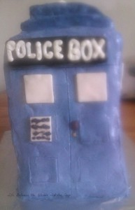 Doctor Who Tardis Cake B.C. WM