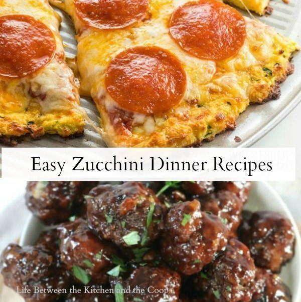 zucchini dinner recipes