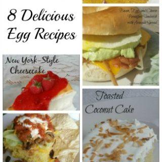 egg recipes for backyard chickens