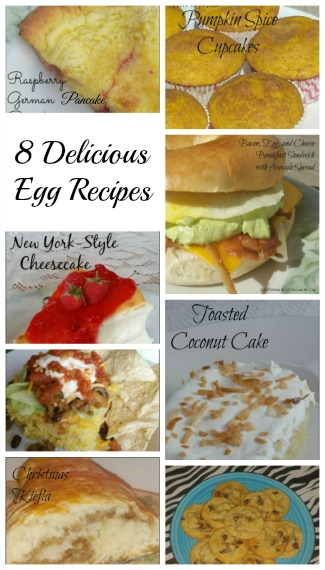 egg recipes for backyard chickens