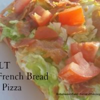 French Bread BLT Pizza