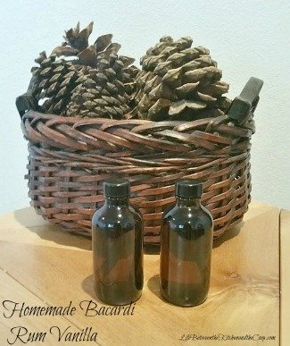 homemade vanilla recipe