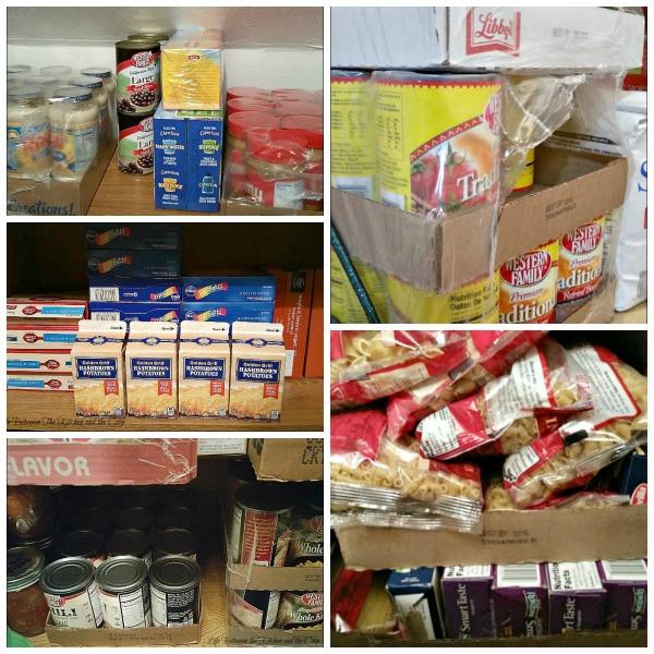build food storage
