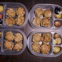 Gluten Free Meal Prep Turkey Meatloaf Muffins