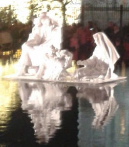 Jesus Mary Joseph Reflection Pool wm