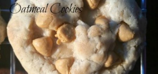 Butterscotch Oatmeal Cookie