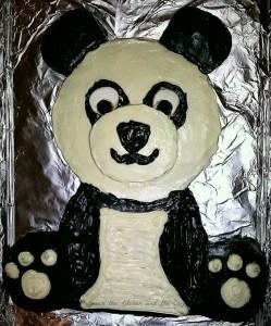 Panda Bear Birthday Cake WM