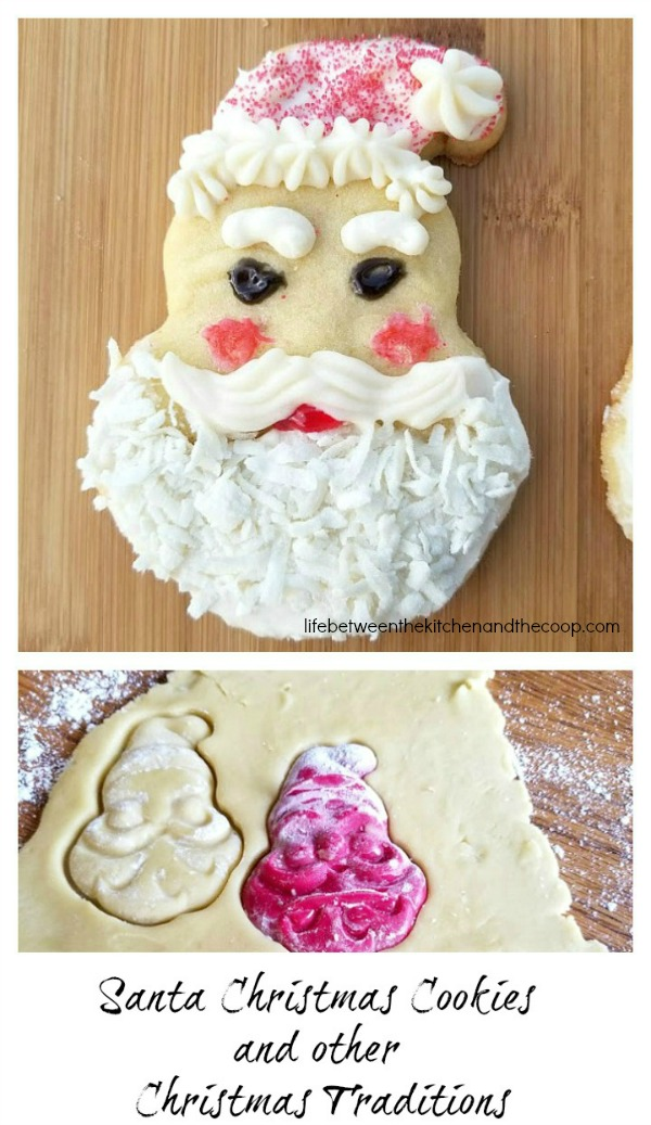 Santa Cookies And Other Christmas Traditions
