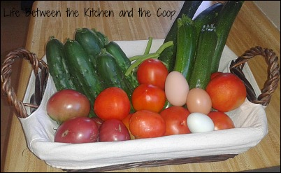 Emergency Preparedness, Fresh Eggs, Garden Vegetables