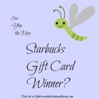 Starbucks gift card winner 325