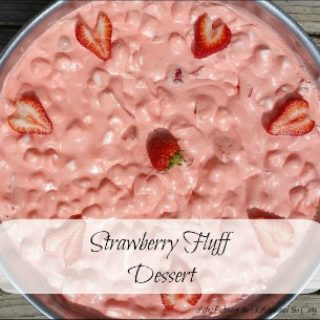 fruit salad, strawberries