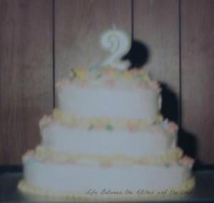 Tiered Birthday Cake WM