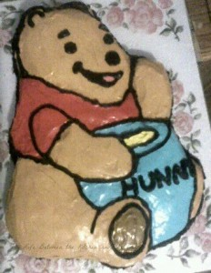 Winnie the Pooh Bear Cake WM