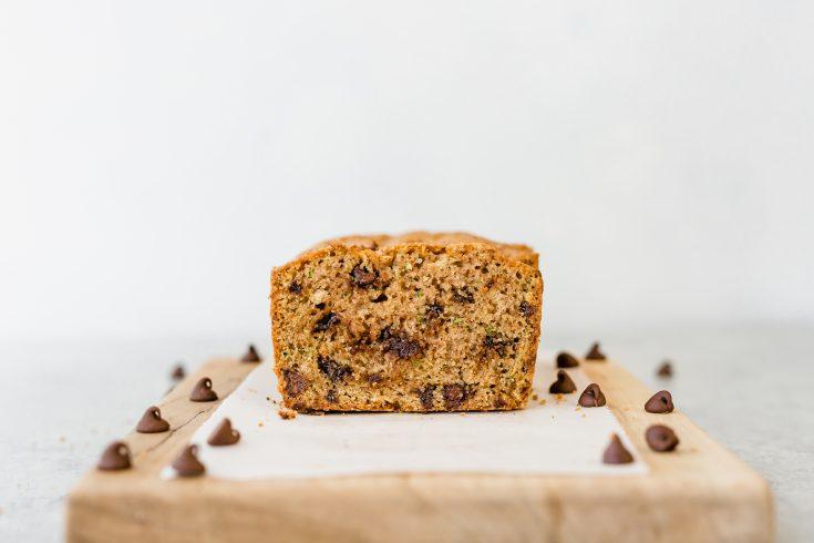 {The BEST} Chocolate Chip Zucchini Bread | Salt & Baker