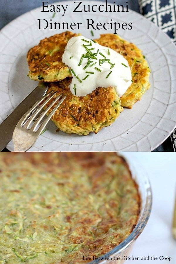 zucchini dinner recipes
