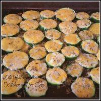 Seasoned Zucchini Bites