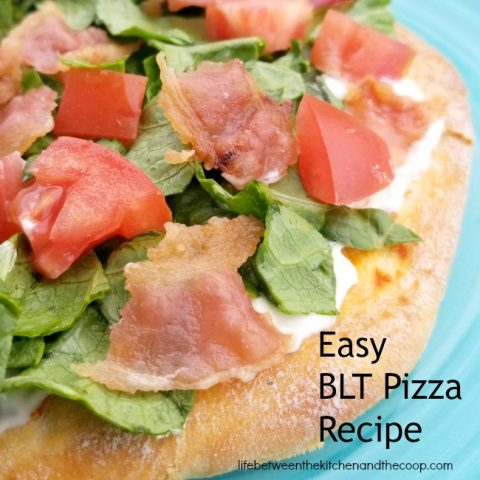 blt pizza recipe