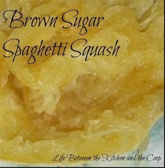 brown sugar spaghetti squash