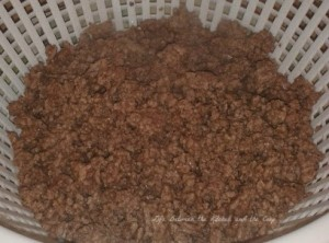 browned ground beef wm