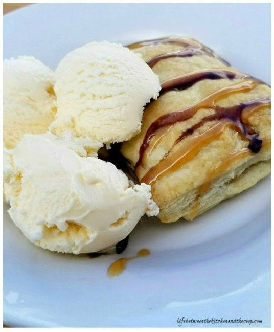 how to make caramel apple dessert turnovers