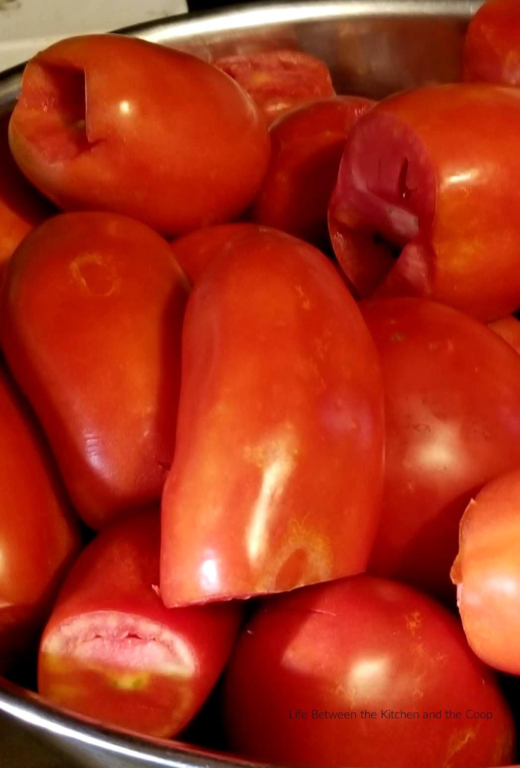 peel tomatoes easy