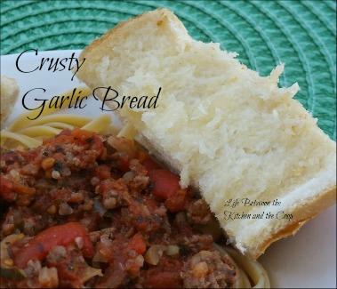 Italian food, bread, crusty bread