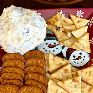 easy green onion cheese ball recipe