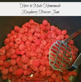 how to make raspberry jam