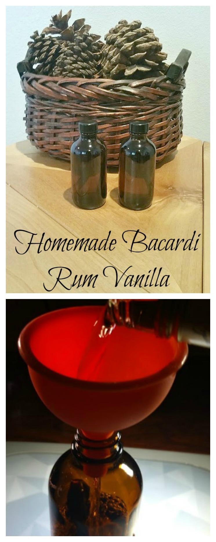 make bacardi rum vanilla