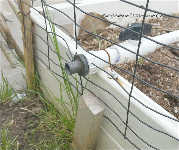 Custom built garden Irrigation System