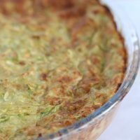 Parve Crustless Zucchini Quiche