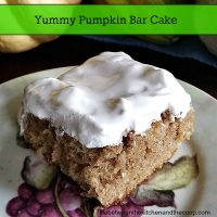 Yummy Pumpkin Bar Cake