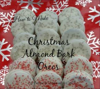 oreos, Christmas, cookies
