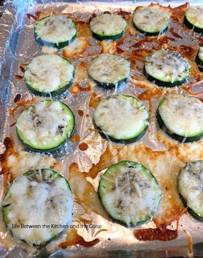 seasoned zucchini bites appetizer
