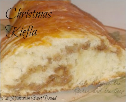 kiefla Romanian sweet bread recipe