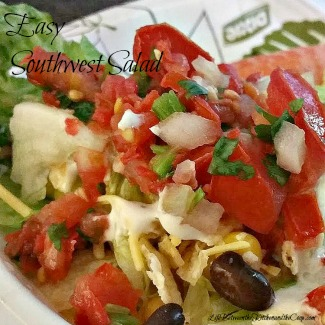 easy southwest salad