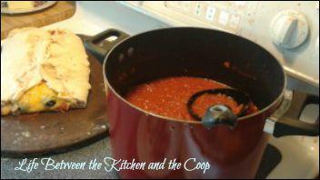 marinara, italian food, pepperoni