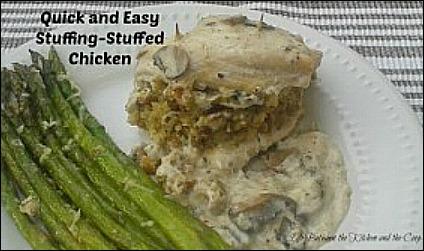 stuffing stuffed chicken