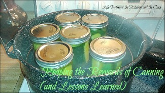 water bath canning, canning mistakes, learn to can, how to can