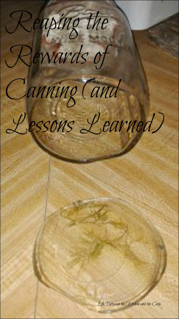 boiling water canning, learn to can, how to can, canning mistakes, canning tips